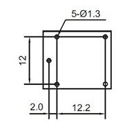RELE INDUSTRIAL YA303H-C 24VDC  NA/NF 15A  5 PINOS  SELADO