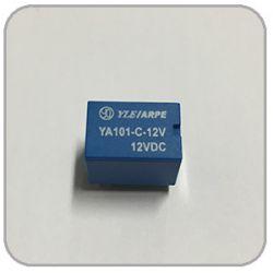 RELE MINI INDUSTRIAL YA101-C-12VDC NA/NF 5A SELADO