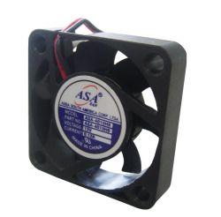 MINI VENTILADOR ASA-4010HB 40X40X10 12V C/ ROLAMENTO 2FIOS  6000RPM