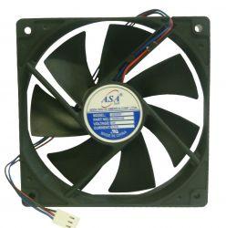 MINI VENTILADOR ASA-12025B-24 120X120X25 24V C/ ROLAMENTO 3100RPM