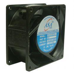MINI VENTILADOR ASA-8038B 80X80X38 BIVOLT C/ ROLAMENTO 3000RPM