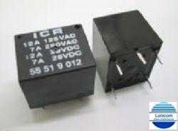 RELE ICR 5551.9006  NA/NF 6VDC 12A/250V 5PINOS