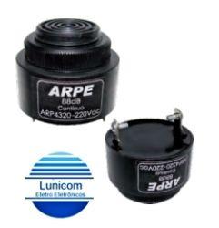 SONALARME ARP4320 88DB 220VAC CONTINUO TERM. FASTON 6,3MM
