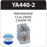 RELE ARPE INDUSTRIAL YA440-2 12VDC  5A 2NA/2NF