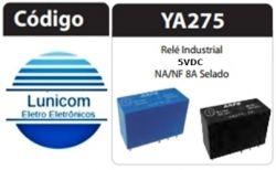RELE ARPE INDUSTRIAL YA275-5VDC 8AMP 2NA/2NF SELADO
