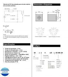 RELE ICR 6013.8220 220VAC 3 CONT. REV. 10A/250V