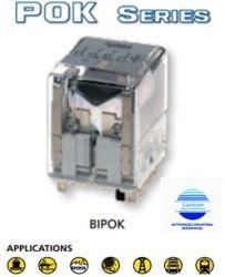 RELE AMRA BIPOKS 4CT. REV. 10A 110VCC