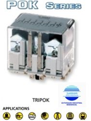 RELE AMRA TRIPOKS 6CT. REV. 10A 110VAC