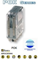 RELE AMRA POKS-VR 2CT. REV. 10A 72VCC (55~96)