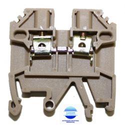 BORNE DE PASSAGEM MTB2,5EN P/ TROLHO TS35