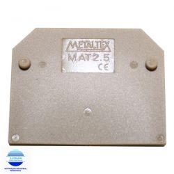TAMPA FINAL MAT2,5 P/ CONEC. MTB2,5EN