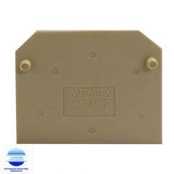 TAMPA FINAL MAT4-10 P/ CONEC. MTB4 A MTB10EN