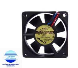 MINI VENTILADOR AD-0612MB-D76-GL 60X60X15 12V C/ ROLAMENTO 3900RPM