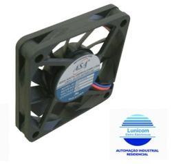 MINI VENTILADOR ASA-0612MB 60X60X10 12V C/ ROLAMENTO 4200RPM