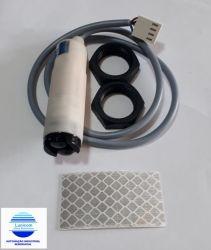 SENSOR OTICO REFLECTIVO IRCPR30-18DPT PNP M18 300MM NA+NF CONECTOR