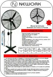 VENTILADOR PEDESTAL 650MM 180W 220V  1652RPM