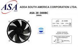 VENTILADOR AXIAL SOPRADOR 300MM ASA2E-300BC 3000A  220V MONOFASICO