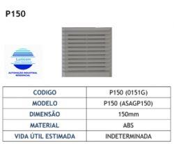 FILTRO PP150  P/ MINI VENTILADOR 120X120MM