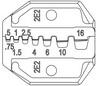 ALICATE LS0516  P/ TERMINAL TUBULAR ILHOS  0,5 A 16MM