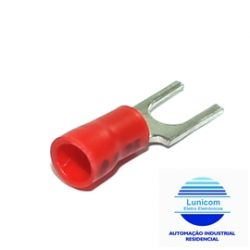 TERMINAL FORQ. PRE ISOL. FR2464C/RF2206  VM M4 0,5-1,6MM C/10PÇS