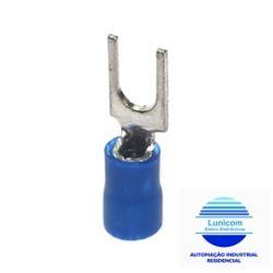 TERMINAL FORQ. PRE ISOL. FR2479C AZ M4 1,3-2,6MM C/10PÇS