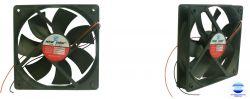 MINI VENTILADOR NF-12025HS-12  120X120X25 12V S/ ROLAMENTO 2150RPM
