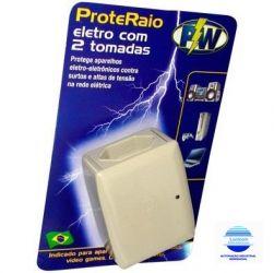 PROTETOR RAIO ELETRO-ELETRONICOS 127V 1200W PW203