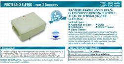 PROTETOR RAIO ELETRO-ELETRONICOS 220V 2200W PW204