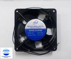 MINI VENTILADOR ASA-12038 120X120X38 BIVOLT 2 FIOS C/ ROLAMENTO 3100RPM