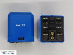 RELE DE POTENCIA ICR 6042.9060  2CT REV 10A 60VCC P/ CIRCUITO IMPRESSO