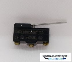 MICRO SWITCH FIM DE CURSO FM1701 15A/250V