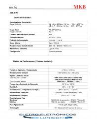 RELE DE POTENCIA MKB-3H 120VAC  NA/NF 40/30A