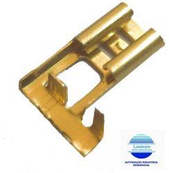 TERMINAL BANDEIRA FBU322202 6,3MM FEMEA S/ TRAVA P/ FIO 1,5 A 2,5MM