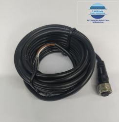 CABO P/ SENSOR RK02-1-4 5M CONEC M12 180º 5MTS 4 FIOS