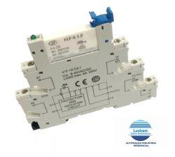 RELE MODULAR DE INTERFACE HF41F 12V DC/AC 6AMP HONGFA